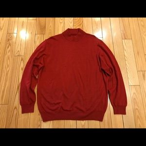 Italian Turtleneck Sweater Wool/Acrylic Mix 52